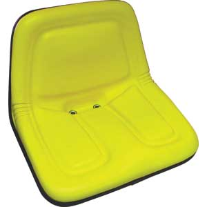 913905 - Deluxe Universal Yellow High-Back Steel Pan Seat