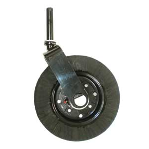 A 1233786 Rotary Mower Tail Wheel Complete Assembly