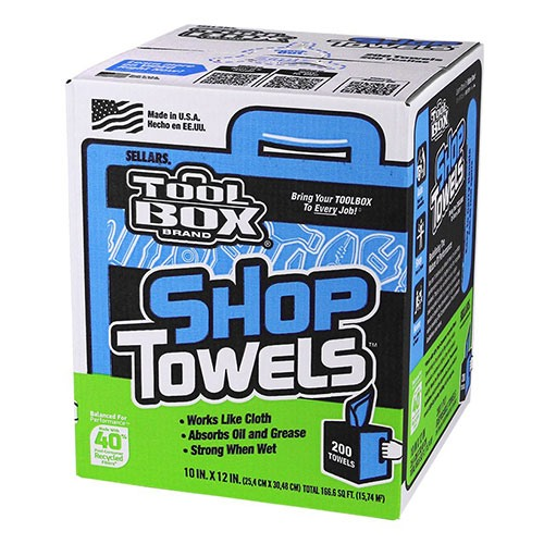 A 55202 - TOOLBOX® Z400 Box of Center-Pull Shop Towels