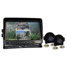 HDMOV7MQC2 - OVERVIEW 7IN QUAD DOUBLE CAMERA KIT