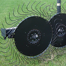 W16-60S - 60' POLY RAKE WHEEL WIND GUARD - SITREX