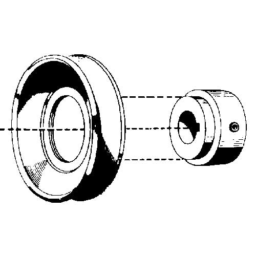 W0450S - PULLEY W SERIES 4.5